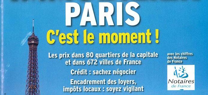 Paris Immobilier c'est le moment - l'Express