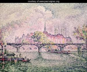 Ile de la Cite, Paris, 1912 by Paul Signac