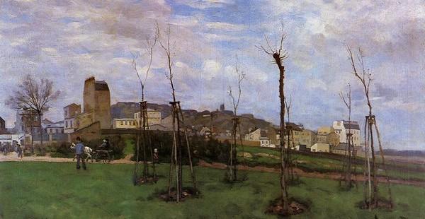 Montmartre au début du 20ème siècle