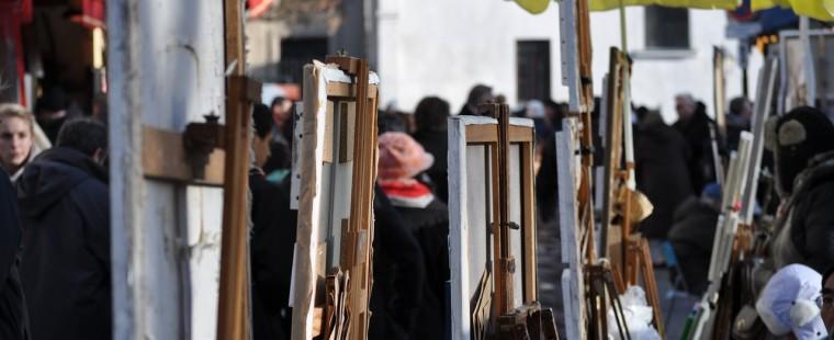 Vivre la vie d'un artiste à Montmartre: Gen Paul