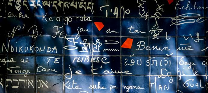 L'histoire du mur des Je t'aime à Montmartre