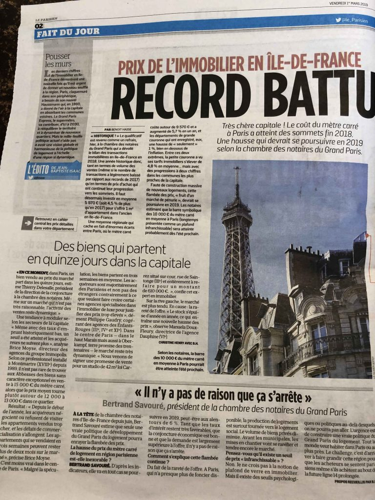 Article le Parisien
