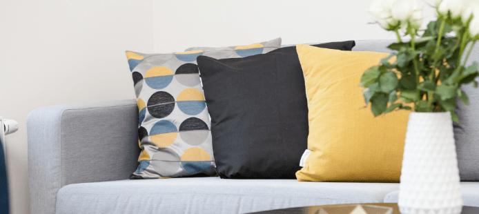 Détail d'appartement meublé