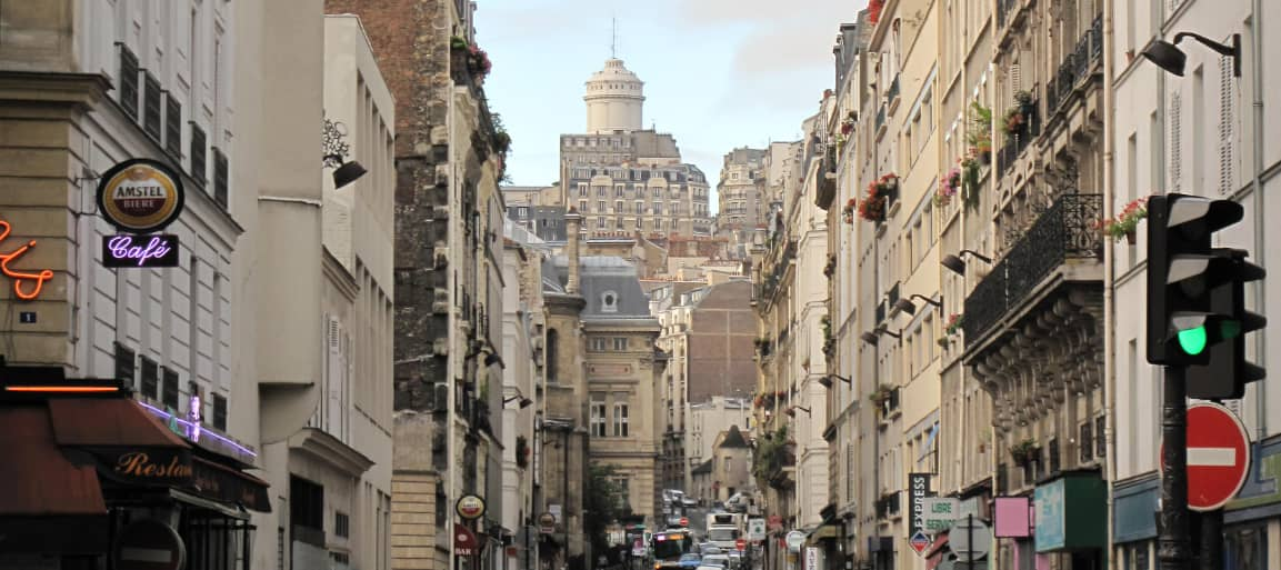 Photo de la rue du Mont Cenis Paris 18