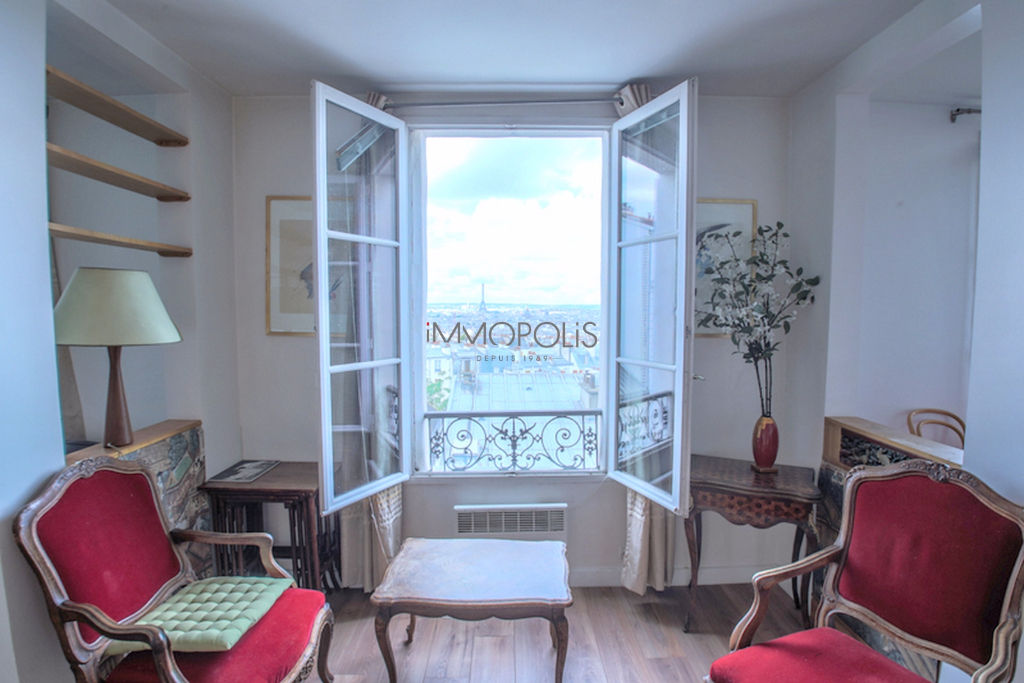 Exceptional Neighborhood – 93m² View of Paris 1