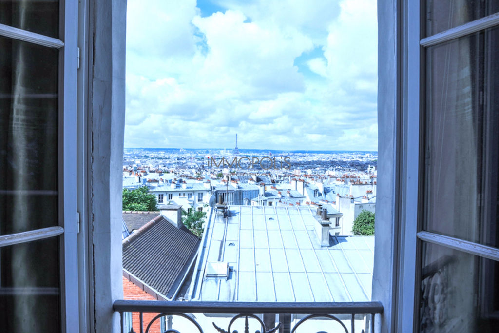 Exceptional Neighborhood – 93m² View of Paris 8
