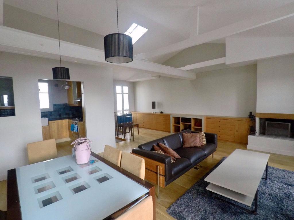 Duplex 91 m² aux Abbesses 2