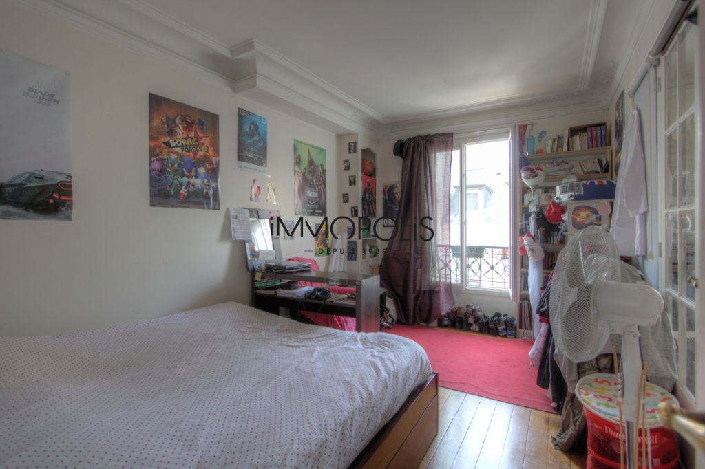 Exclusivity: beautiful 3 room apartment with a perfect plan, clear and calm, of 55.21 M² with little opposite! 4