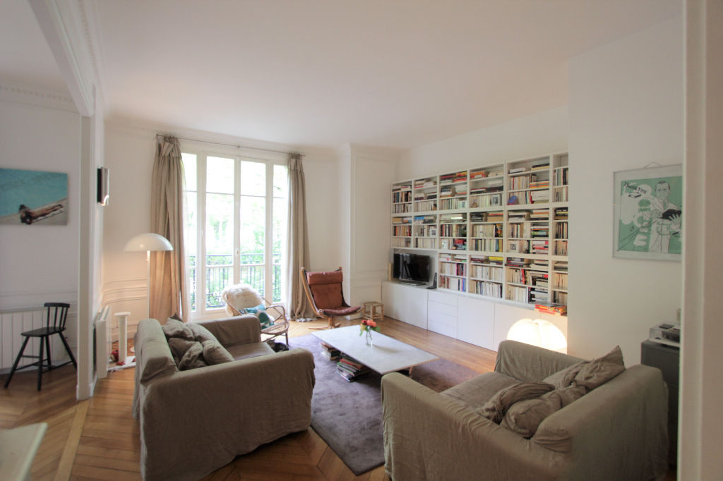 Rue Caulaincourt: Magnificent family apartment with 5 rooms 1