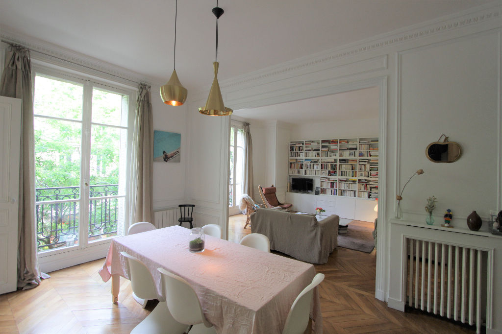Rue Caulaincourt: Beautiful family apartment with 5 rooms 2