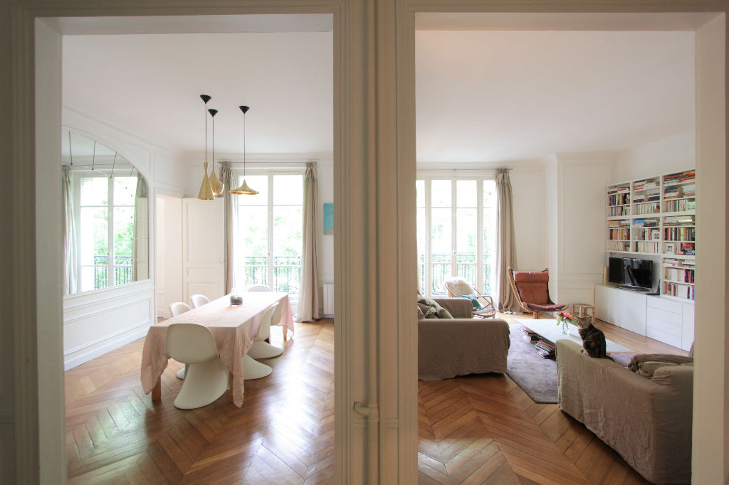 Rue Caulaincourt: Beautiful family apartment with 5 rooms 5