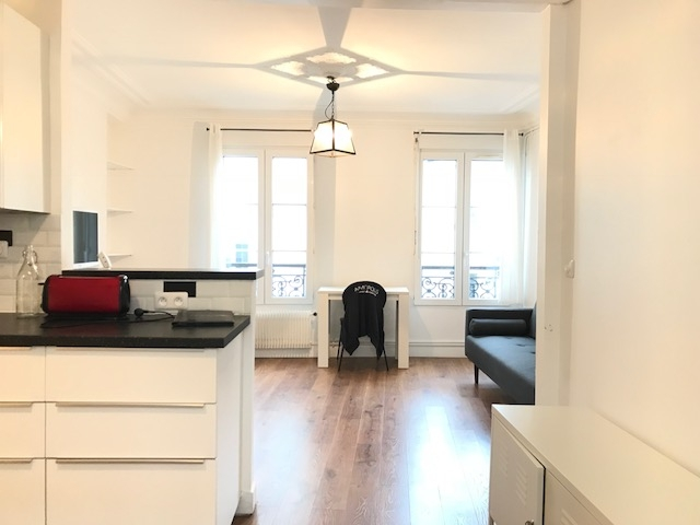 2 room furnished apartment – Paris 18th 1
