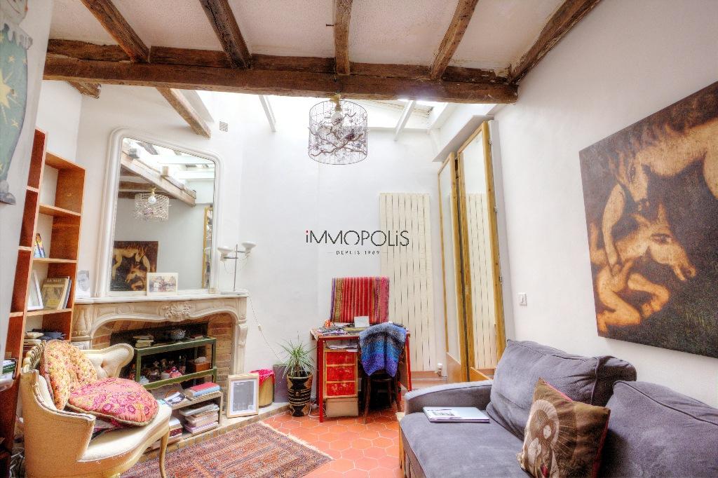 Beau 3 pièces avec partie atelier et vue dégagée à Montmartre ! Beau 3 pièces avec partie atelier et vue dégagée à Montmartre ! 4