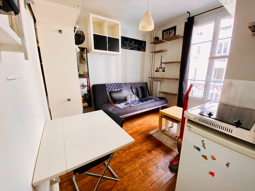 Appartement Paris 1 pièce(s) 12.82 m2 1