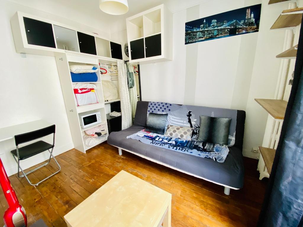 Appartement Paris 1 pièce(s) 12.82 m2 2