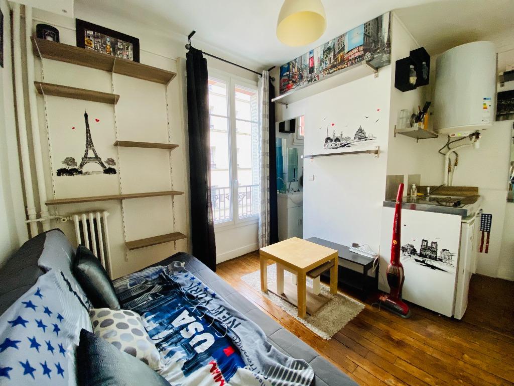 Appartement Paris 1 pièce(s) 12.82 m2 3