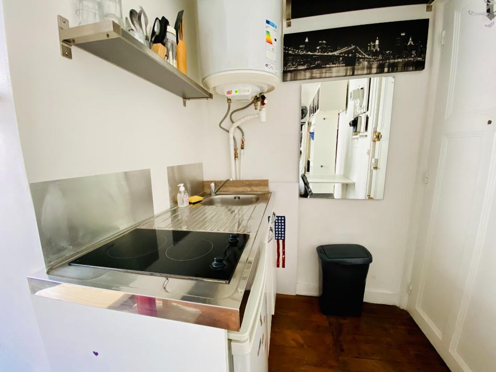 Appartement Paris 1 pièce(s) 12.82 m2 4