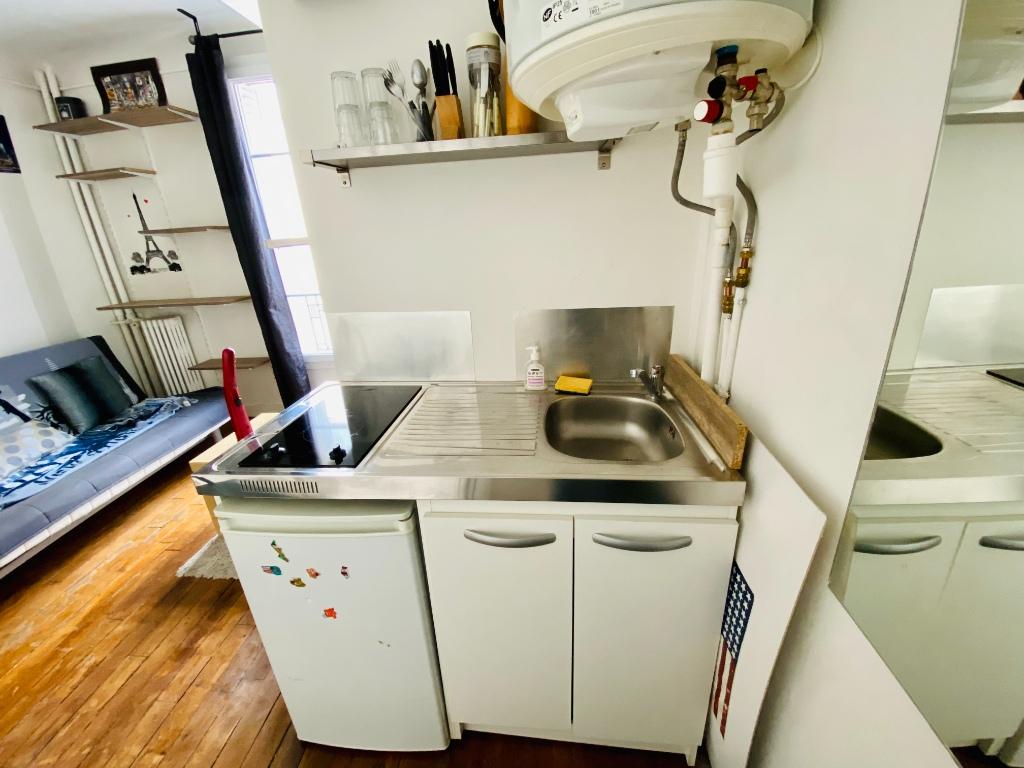 Appartement Paris 1 pièce(s) 12.82 m2 5