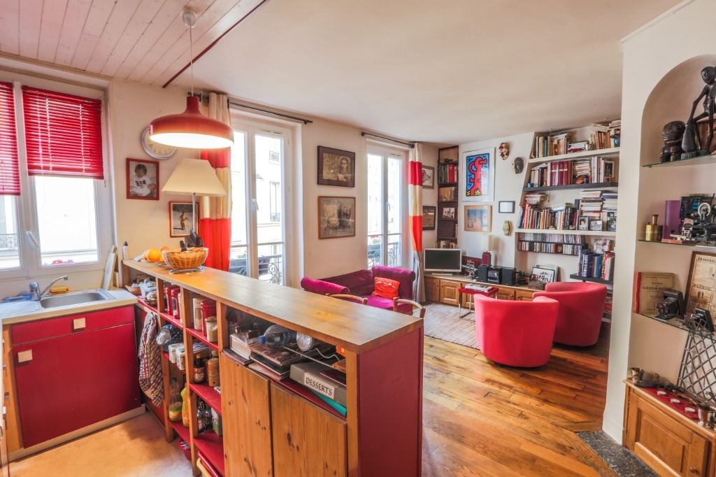 Immopolis – 3 charming rooms Rue Feutrier 1