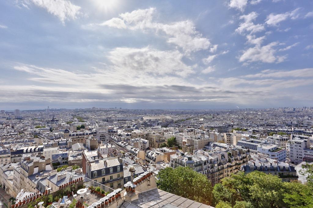 Paris – XVIII –  3 pièces de 44.20 m2 3