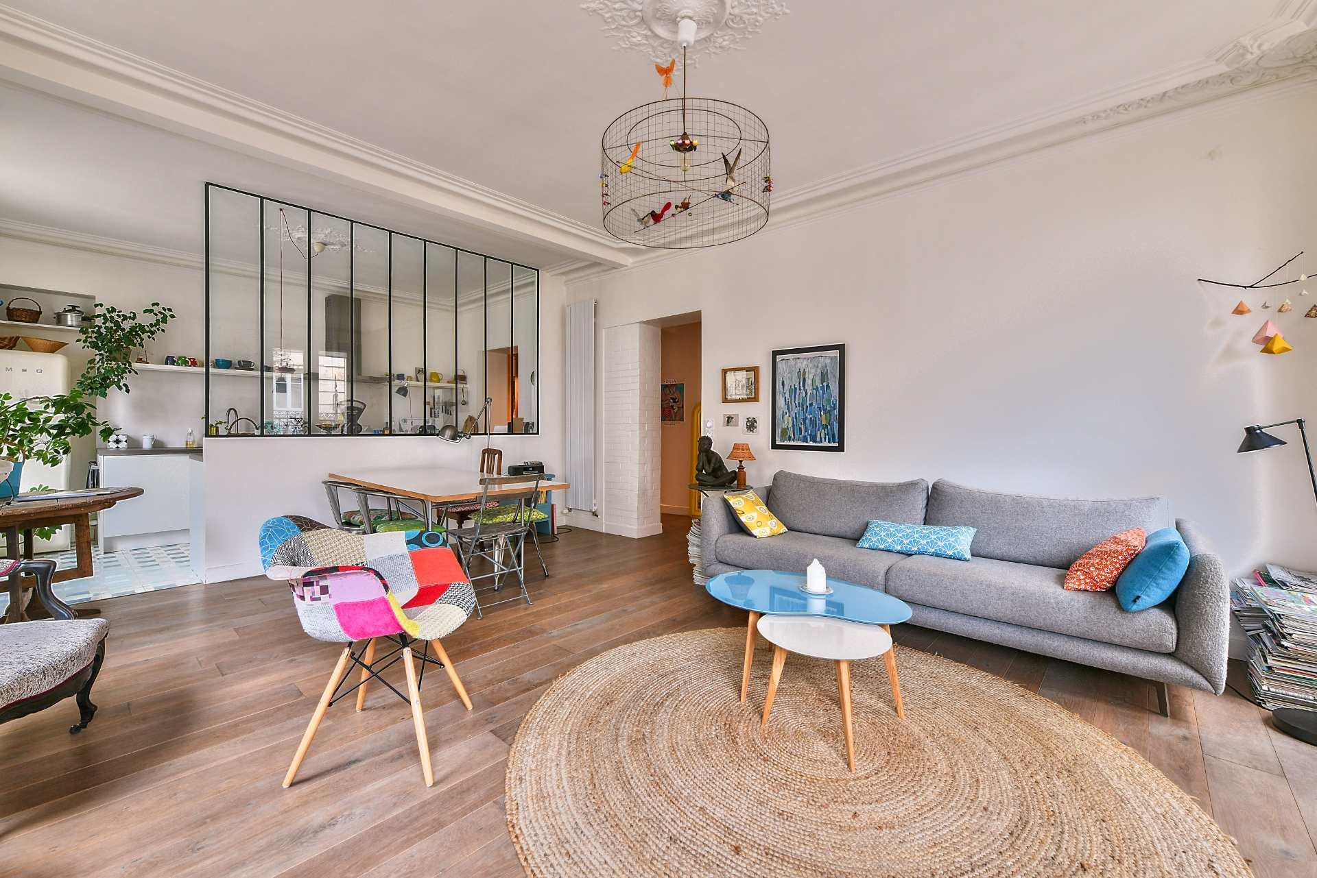 Appartement 3 pièces de 77m2 – Secteur Damrémont – Paris XVIII 2