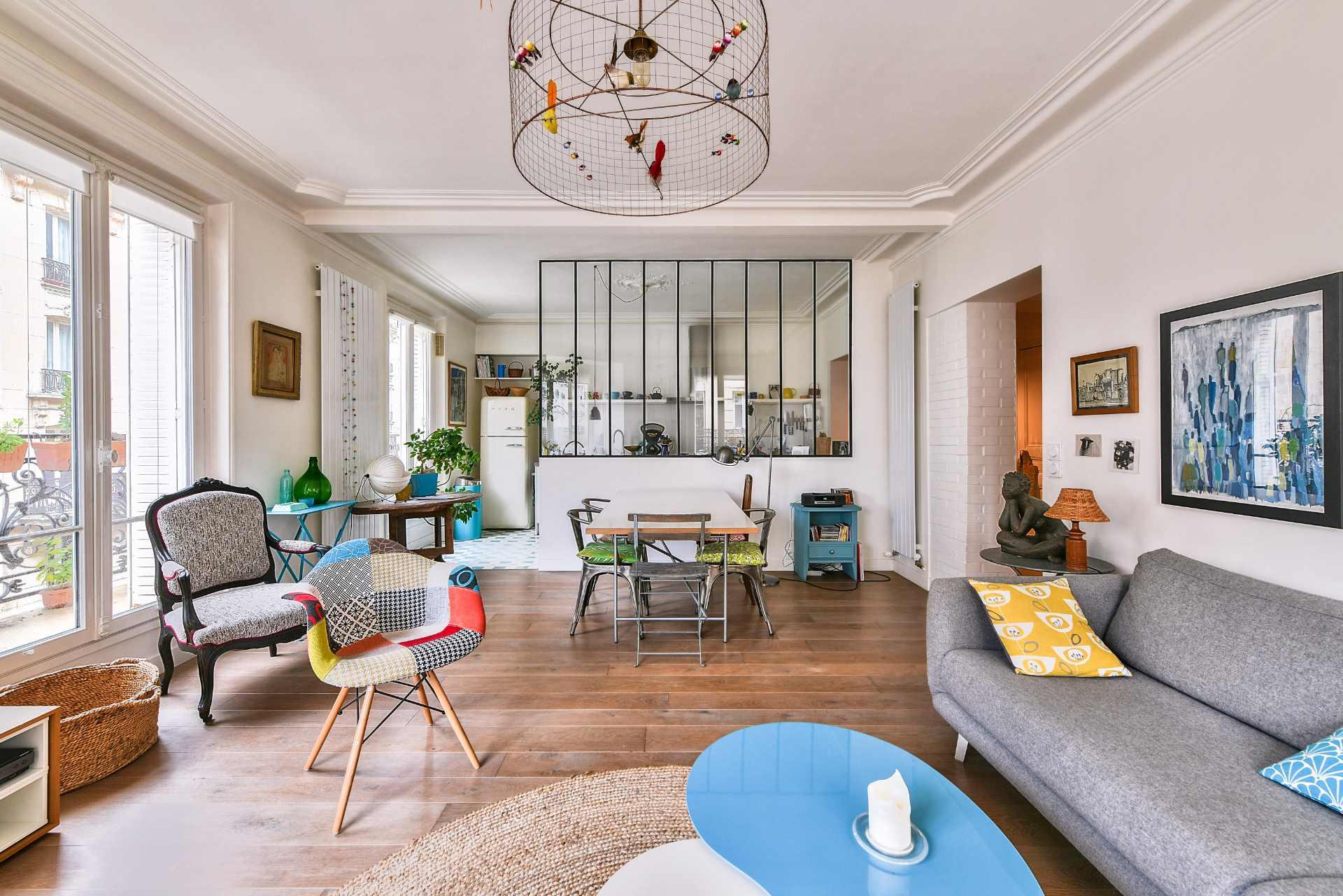Appartement 3 pièces de 77m2 – Secteur Damrémont – Paris XVIII 3