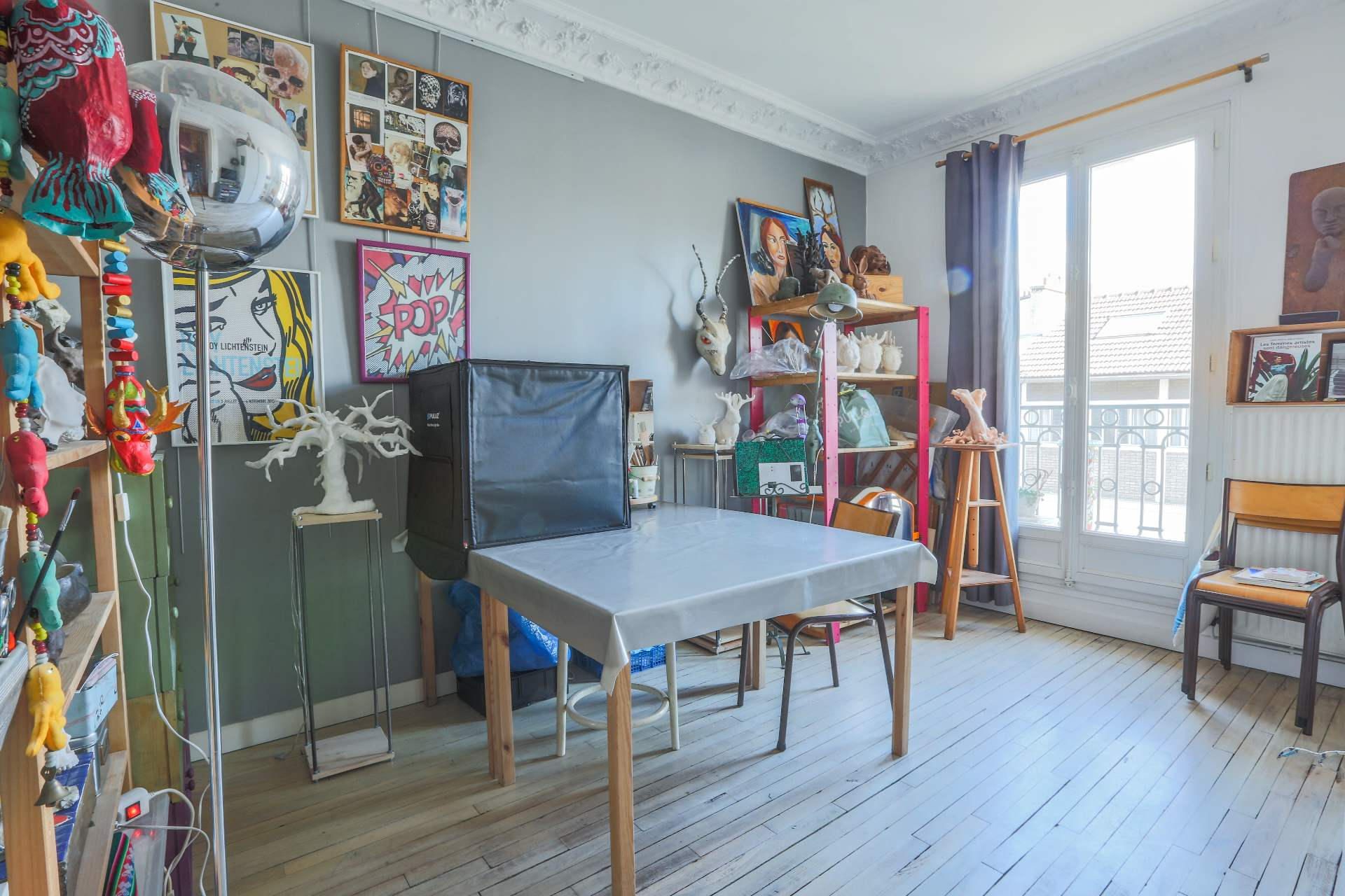LEPIC / CAULAINCOURT : appartement familial 5