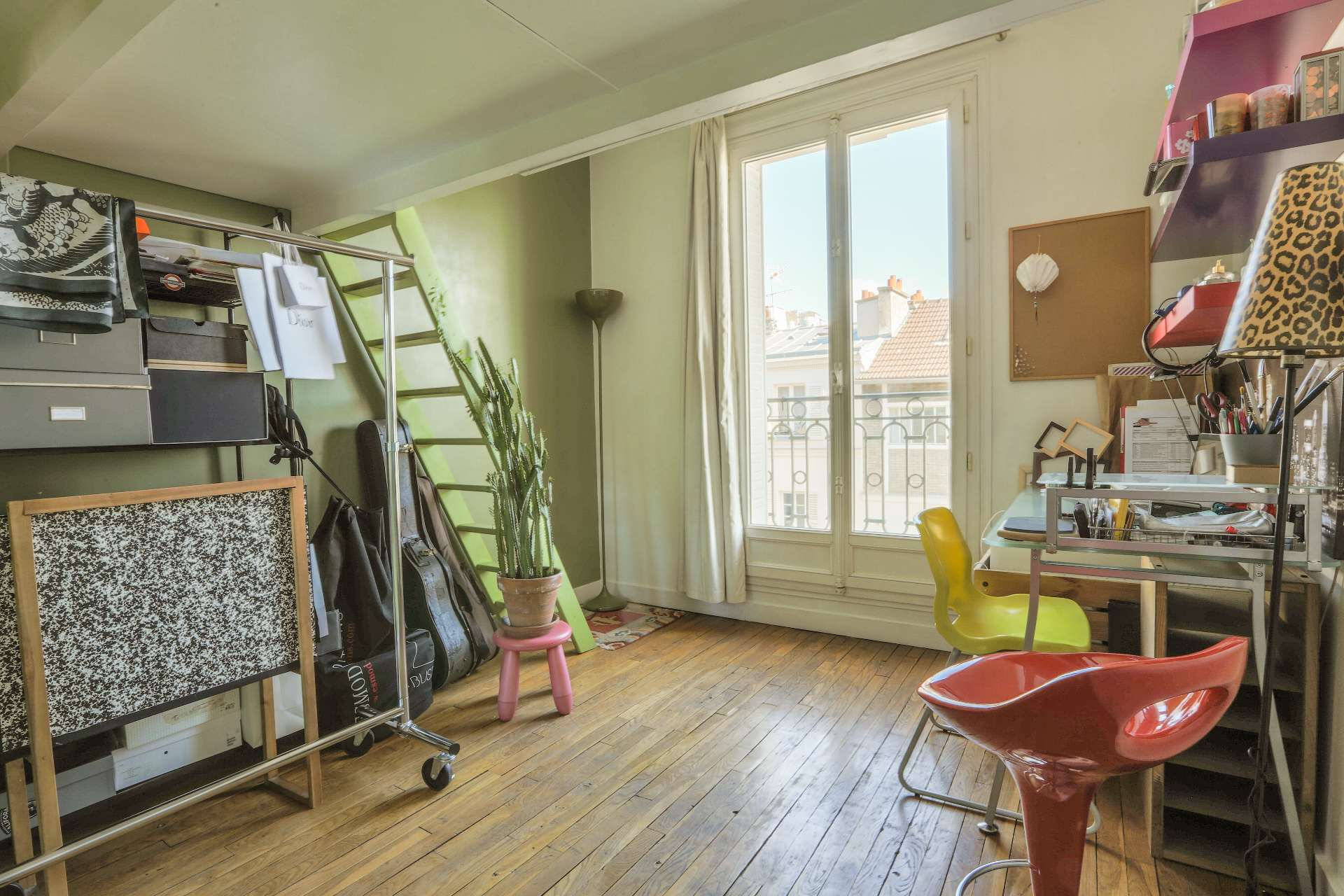 LEPIC / CAULAINCOURT : appartement familial 8