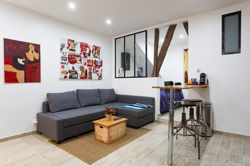 Quartier Ramey 2 pièces Loft 24.02 m2 Quartier Ramey 2 pièces Loft 24.02 m2 1