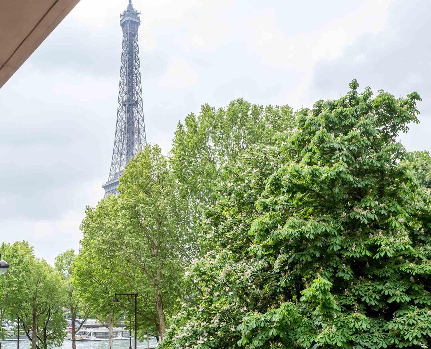 Prestigious apartment with open views of the Eiffel Tower – Paris XVI – Trocadero 9