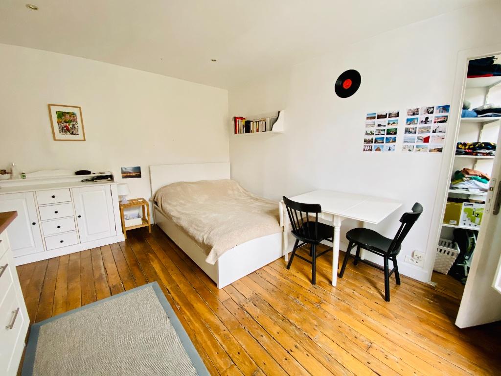 Studio meublé 21m² Belleville 2