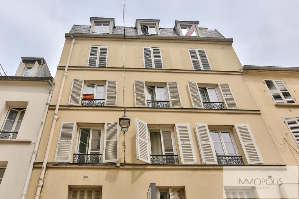 5ème étage – Vrai 2 pièces  rue piétonne 8