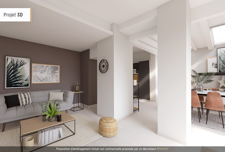 Appartement 3 pièces – Abbesses 1