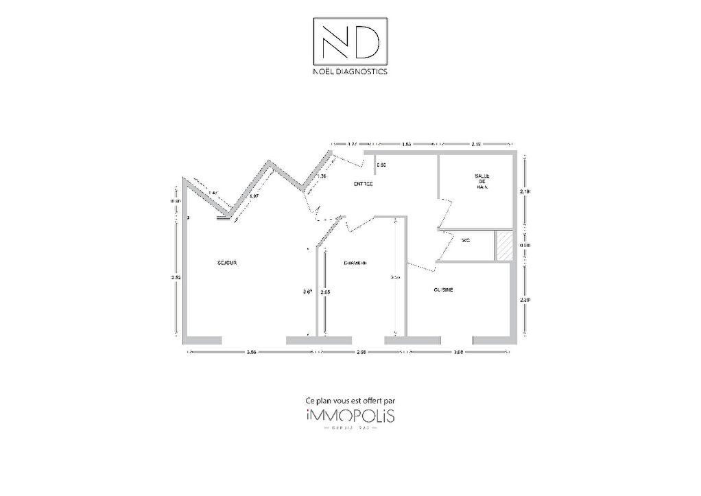 Rueil Malmaison apartment 2 rooms 46 m2 10