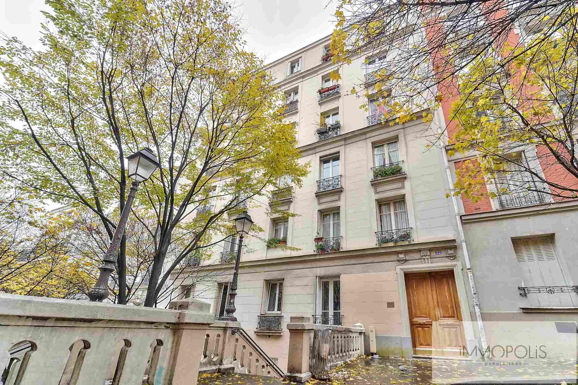 Lamarck – Montmartre – 2 pièces 44 m2 1