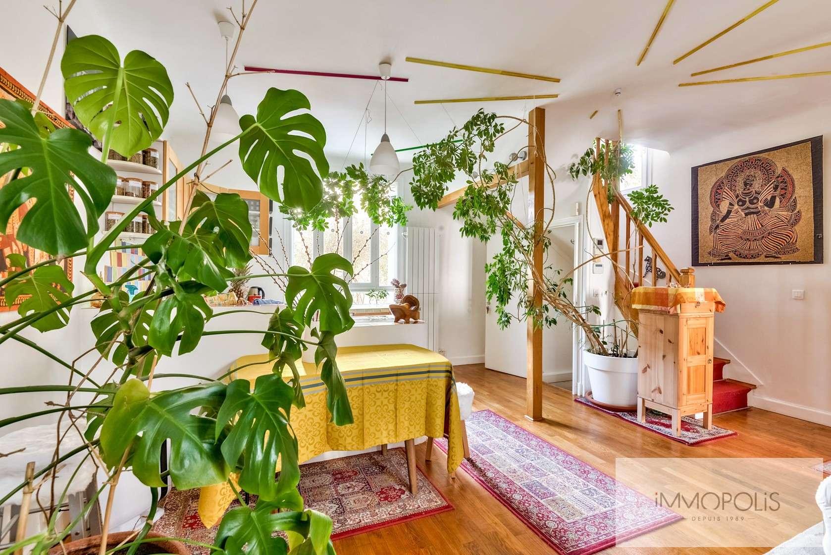 Charmante maison avec jardin et dépendance à Issy-les-Moulineaux (Epinettes) 3