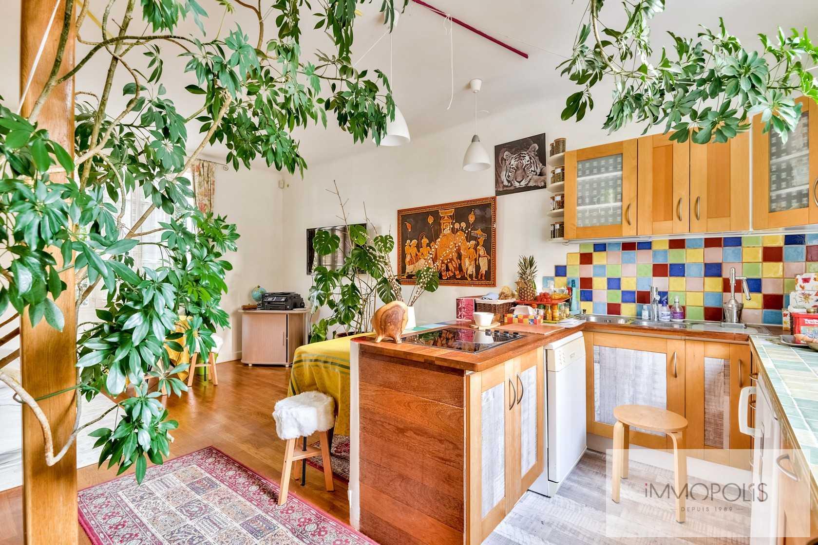 Charmante maison avec jardin et dépendance à Issy-les-Moulineaux (Epinettes) 4