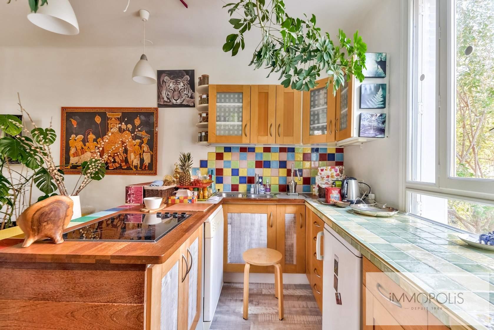 Charmante maison avec jardin et dépendance à Issy-les-Moulineaux (Epinettes) 6