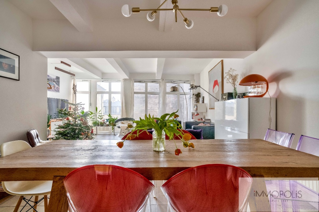 Abbesses : Appartement type Loft 3 chambres 1