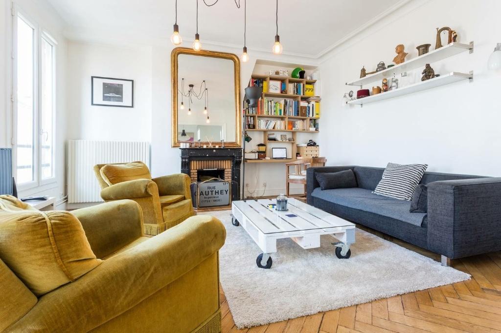 Appartement Paris 17ème 3 pièces vide 63.46 m2 1