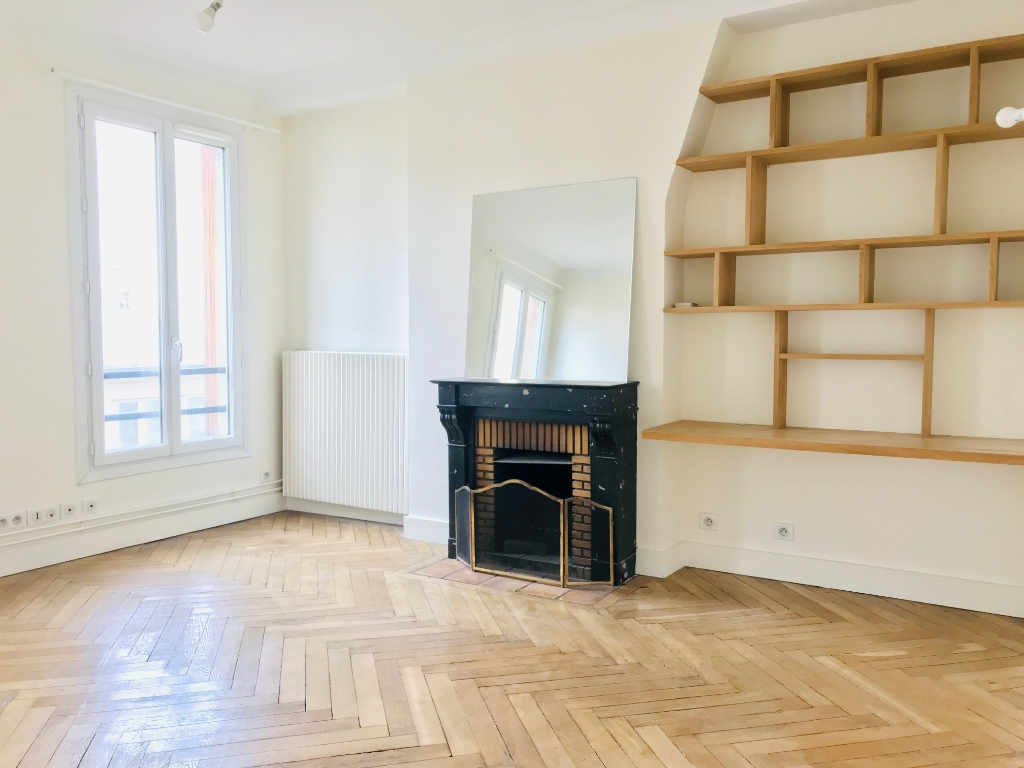Appartement Paris 17ème 3 pièces vide 63.46 m2 5