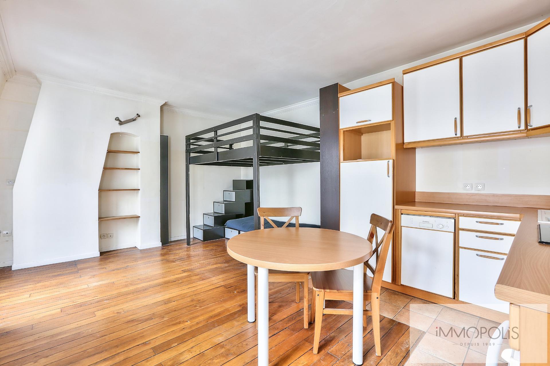 Last Top Floor 2 Rooms of 27 M² Village Ramey 5