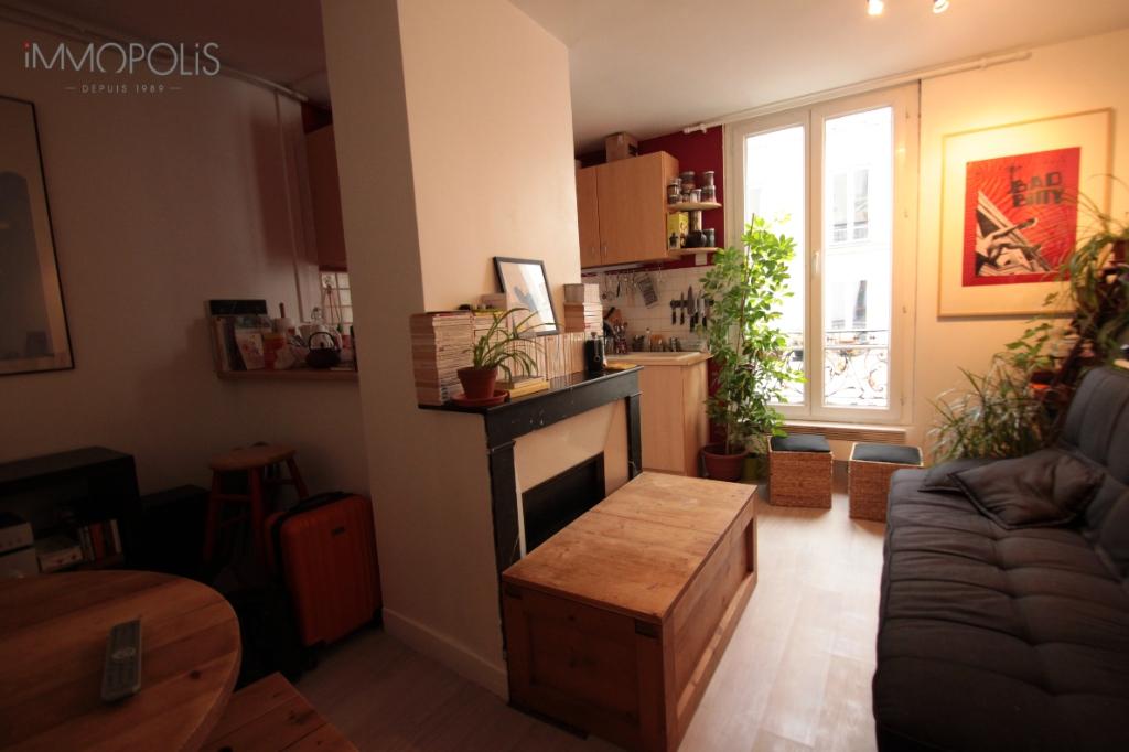 Lamarck / Caulaincourt area Paris apartment 2 room (s) 39 m2 1