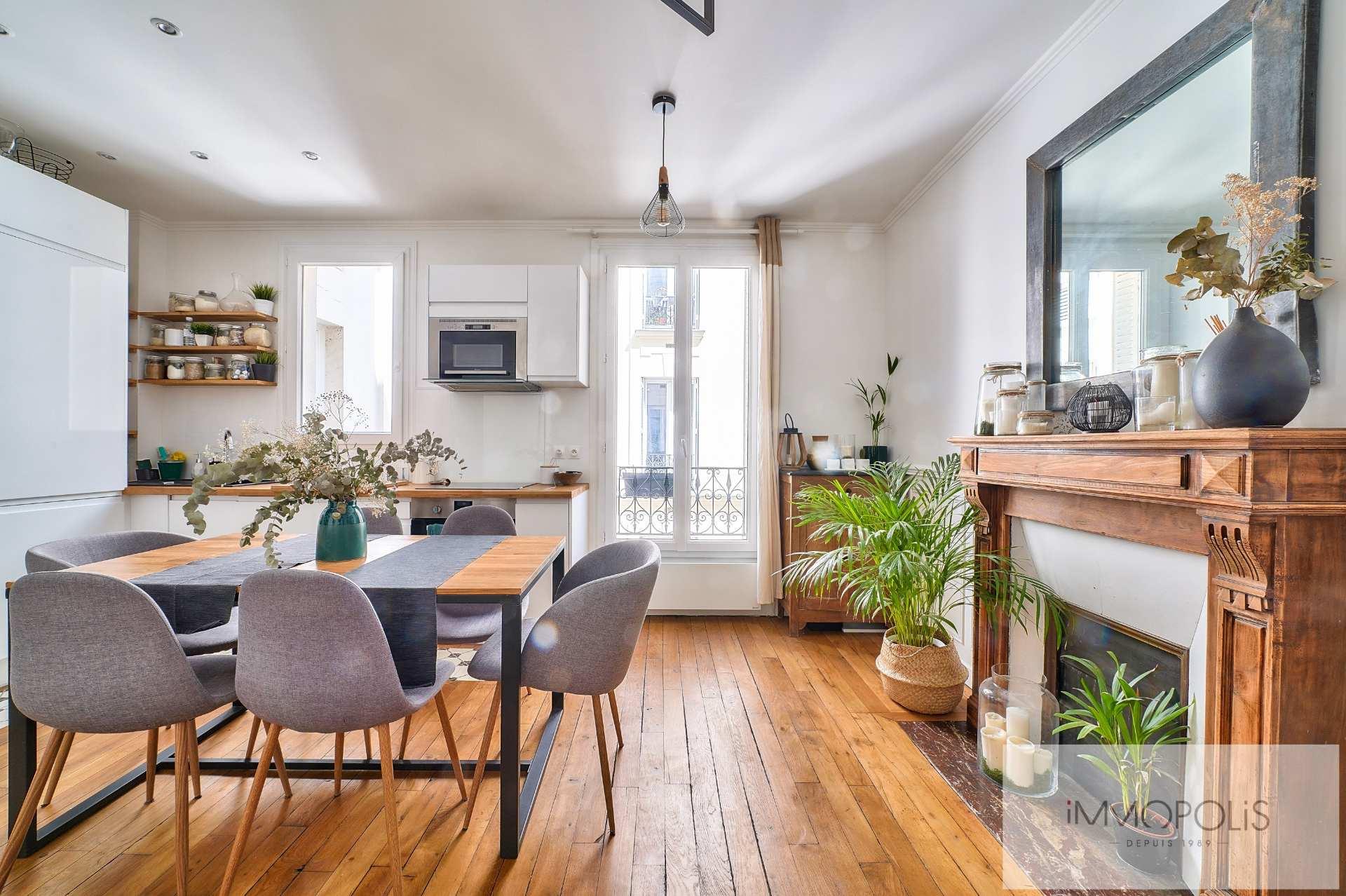 Lamarck – Guy Môquet Beau 3 pièces 2 chambres de 55 m² 1