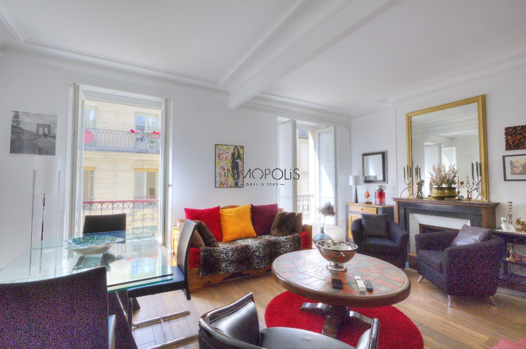 Superb 3 rooms (1 bedroom) in Montmartre, on the 3rd floor with elevator: great benefits! 1