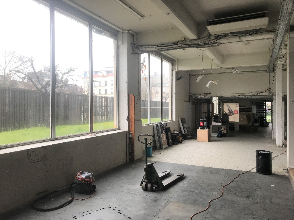 Building base, commercial walls in Ivry-sur-Seine (about 800m²) 3