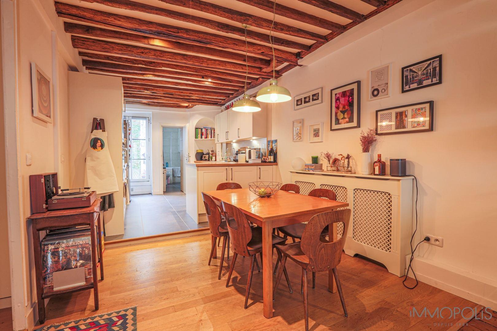VILLAGE RAmey, Beautiful 2/3 room apartment of 53m² 4