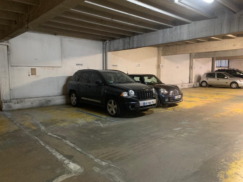 Place de parking  rue de Chaillot 3