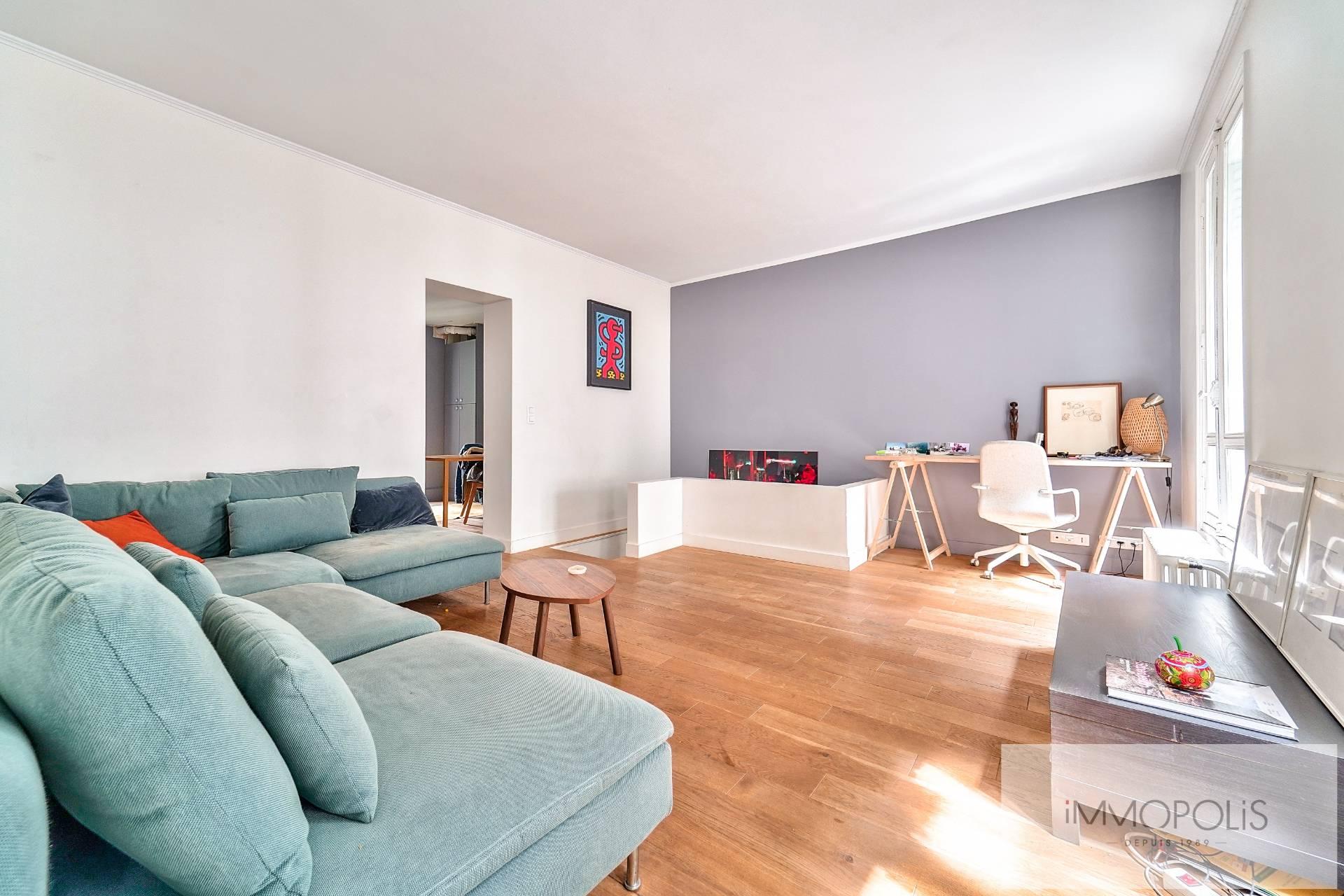 Mont-Cenis / Caulaincourt Apartment Paris 2 room (s) 48 m2 2