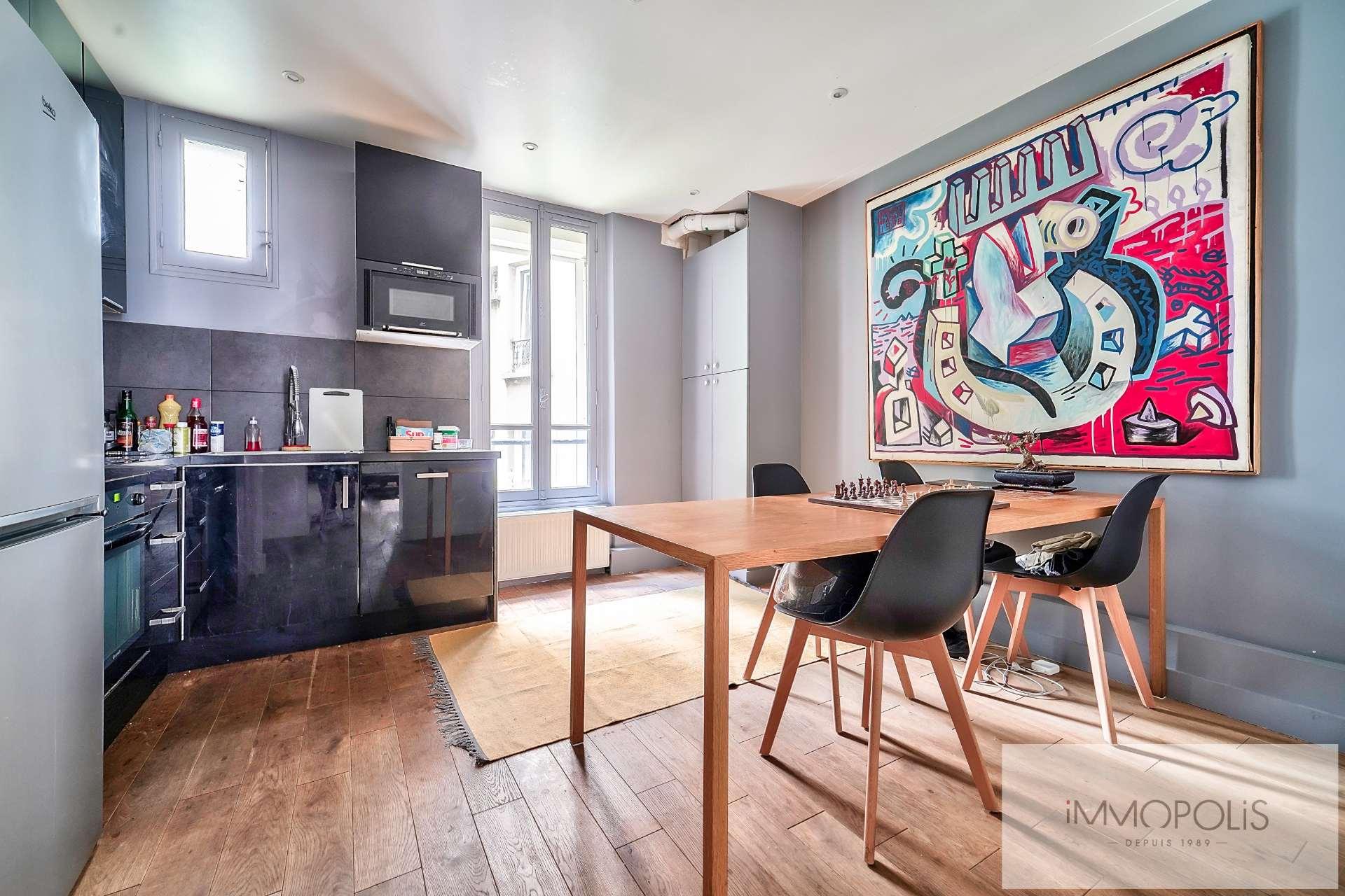 Mont-Cenis / Caulaincourt Apartment Paris 2 room (s) 48 m2 6